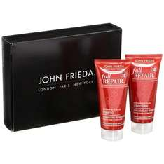 Bestpreis! [Amazon Prime oder als Füllartikel] John Frieda Full Repair Probierset (1x Repair & Fülle Shampoo 50 ml, 1x Repair & Fülle Conditioner 50 ml) NUR  0,91 €