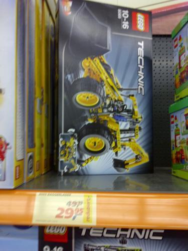 [Lokal] Saarbrücken-Dudweiler Real LEGO Technik Baggerlader 8069 für 29,95€ + Weitere Angebote