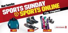 3 Sonntags-Tagesangebote bei Sports Experts