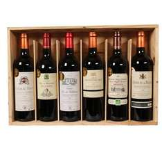 "[60 % Ersparnis] [Plus.de-Deal] [qipu] Selection de 6 Vins Medailles d`Or ""Grands Vins de Bordeaux"""
