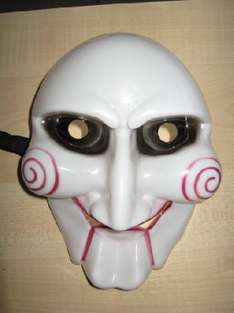 "(HK) The Saw ""Billy"" Maske für ca. 1,86€ @ ebay"
