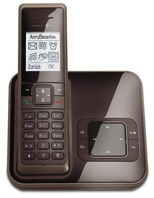 T-Home Sinus A205 Schnurlostelefon mit AB + Grafikdisplay - DECT - gratis Versand