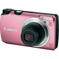 Canon PowerShot A3300 IS Digitalkamera Pink @conrad für 57,45€