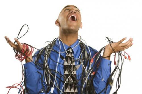 Kostenlose Video-Audio-VGA-Strom Kabel
