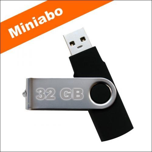 32 GB USB Stick + 3 Ausgaben PC Go