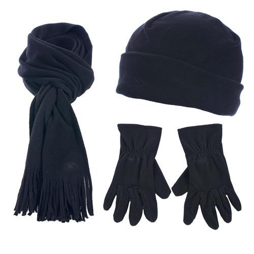 Trespass Unisex Mütze, Schal, Handschuhe