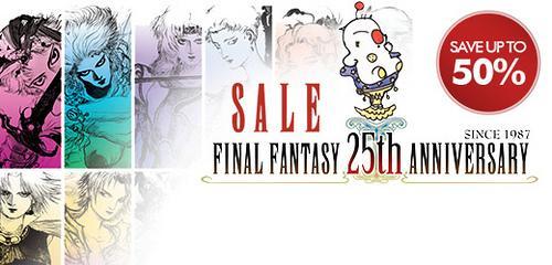 Final Fantasy-Verkaufsaktion diese Woche im PlayStation Store (bis zu 50%)