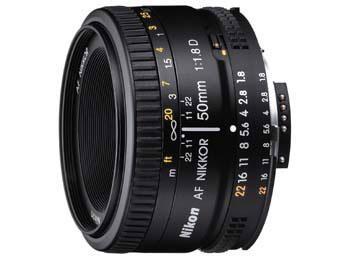 Nikon AF Nikkor 50mm f1.8 D für 107,64 € @Amazon.co.uk Marketplace