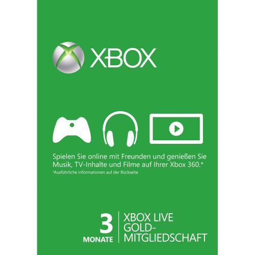 Xbox 360 - Live Gold (XB360)