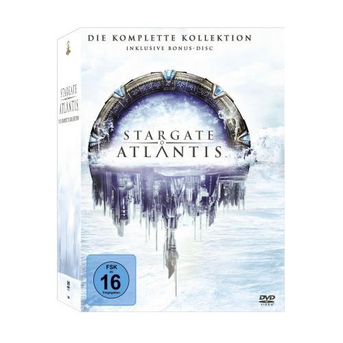 Stargate Atlantis - Die komplette Kollektion (DVD)