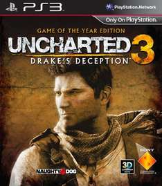 [PS3] Uncharted 3 - Game of the Year Edition VSK Frei - 17,99 Euro (mit Füllartikel --> ~15€!)