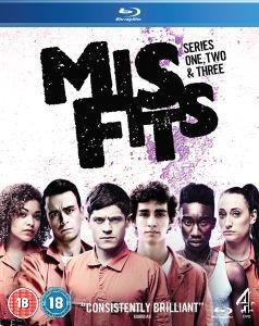 Misfits Series 1-3 O-Ton BluRay unter 18,00 Euro @TheHut
