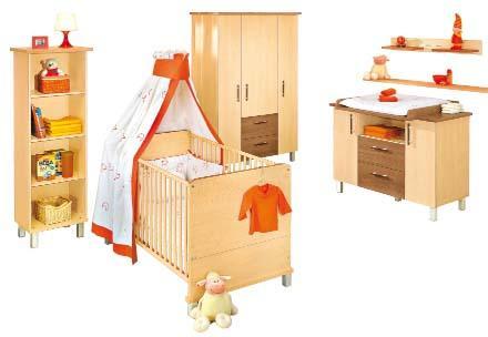[lokal Segmüller Weiterstadt] Paidi Baby-/Kinderzimmer 3-teilig für 679,-