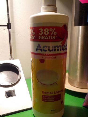 Lokal Kaufland Schweinfurt Acumed Kontaktlinsenpflegemittel +38% Inhalt und 40% Rabatt