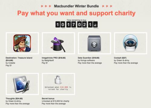 Macbundler Winter Bundle - Schnell sein lohnt sich! - Bis zu 6 Apps zum selbst bestimmten Preis!