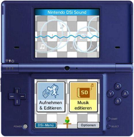 buecher.de -  Nintendo DSi Metallic Blau durch Gutschein für 119 Euro incl. Versand