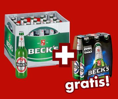 Beck´s Kiste für 10€ im Kaufland
