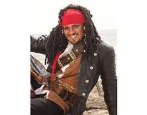 """MeinPaket: Jack Sparrow Piraten-Perücke - für 28,95€ mit """"10PROZENT"""" Gutschein"""