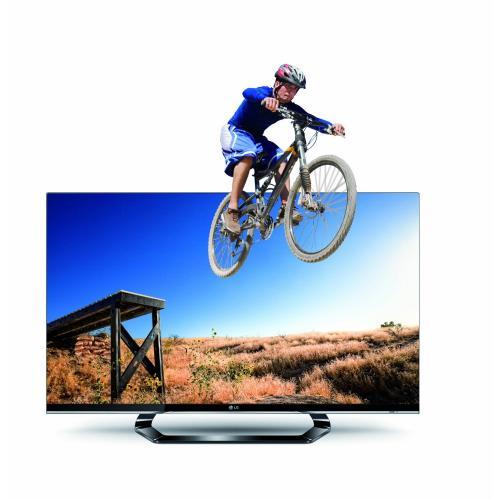 LG 42LM640S 107 cm (42 Zoll) Cinema 3D LED Plus Backlight-Fernseher, Energieeffizienzklasse A+ (Full-HD, 400Hz MCI, DVB-T/C/S2, Smart TV)