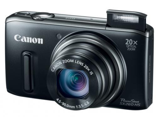 WHD: Canon PowerShot SX 260 HS Digitalkamera (Schwarz)