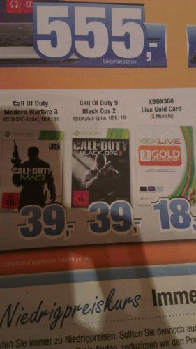 Call of Duty: Black Ops 2 für die Xbox für 39€ bei Expert Bening (im Norden)