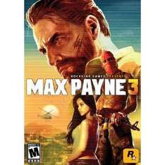 Max Payne 3 [Steam] $14.99 oder $9.99 mit Promotional Credit @Amazon.com