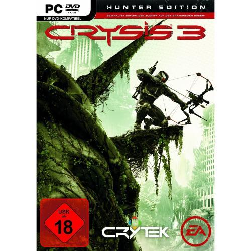 Vorbestellaktion Crysis 3 - Hunter Edition (uncut) + Beta Key + Stalker-Pack und Crysis 1 gratis