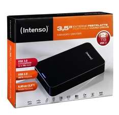 Intenso Memory Center 2TB USB 3.0 externe Festplatte HDD 3,5 Zoll