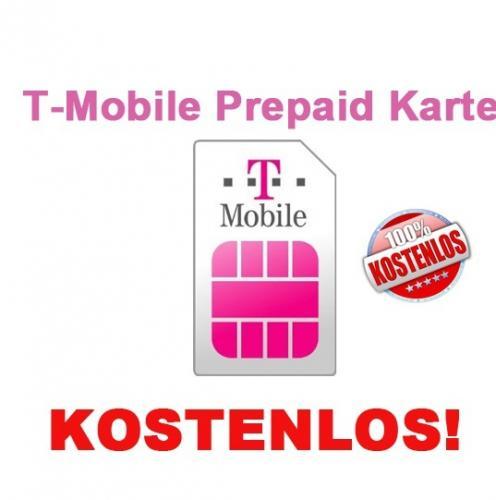 Kostenlose Sim-Karten von z.B. Lyca Mobile, T -Mobile Xtra, o2 o Prepaid