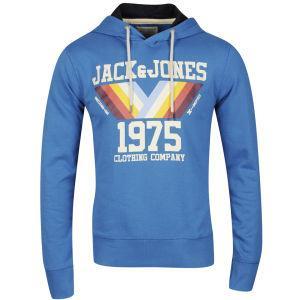 Zavvi:Jack & Jones Men's Mountain Hooded Sweatshirt - Blue für 16,99Pfund~20€