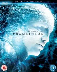 Prometheus (Includes Digital Copy) Blu-ray [zavvi] 11.72 €