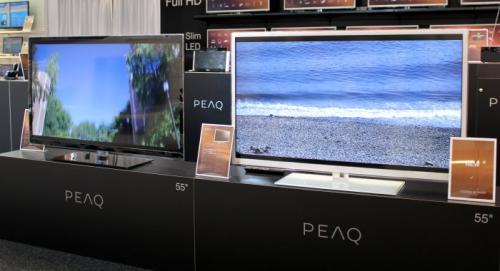 "55"" PEAQ 3D Edge LED bei Media Markt"