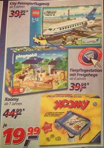 REAL: LEGO City 3181 - Passagierflugzeug