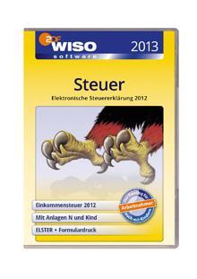 Unter 10 Euro: WISO Steuer 2013 als Download