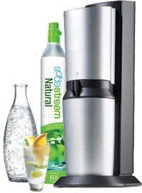 Sodastream Crystal Megapack inkl. 5 Glaskaraffen @ real online und offline