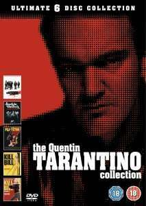 (UK) Quentin Tarantino Box Set 6 x DVD für ca. 10.50€ @ Thehut