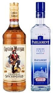 [Lokal?] Kaufland Erlangen-Ost - Captain Morgan und Parliament Vodka - 8.88