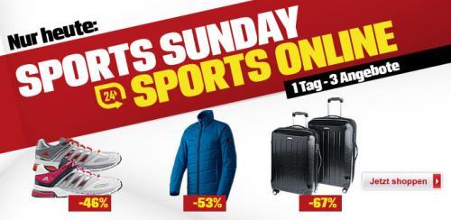 .Mammut Primaloftjacke Lanudo, Adidas Laufschuh Supernova Sequence 5, Koffer-Set beim Sports Sunday