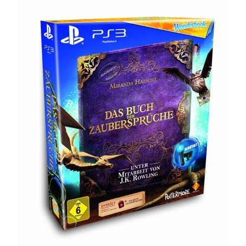 [PS3] Wonderbook: Das Buch der Zaubersprüche (Move erforderlich) für 20.94 Euro inkl. Versand @ Amazon.de