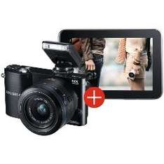 Samsung NX1000 (20.3MP, 20-50mm Lens Kit) + Samsung 7.0 Galaxy Tab2 für ca. 355€ @ Amazon.co.uk