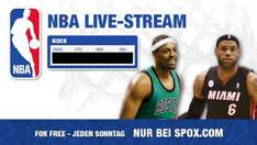 NBA Live Stream auf Spox.com - heute Klassiker: Miami Heat vs. Boston Celtics