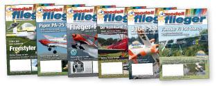 Modellflieger-Magazin - Der gesamte Jahrgang 2012 des Verbandsmagazins zum Download