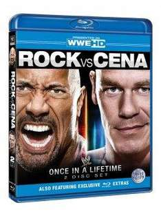 WWE Wrestling DVDs/BDs von Silvervision Lager/Ausverkauf [z.B. Rock vs. Cena - Once in a Lifetime Blu-ray (2 Discs) ab 13€]