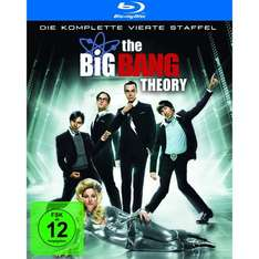 [BLU-RAY] The Big Bang Theory - Die komplette vierte Staffel @ Amazon.de für 22,97 EUR (DVD 14,97 EUR)