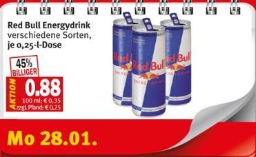 Red Bull 0,88€ [Kaisers/lokal?]