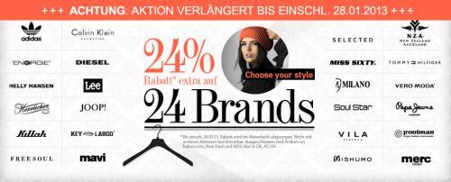 [dress-for-less] 24% Extra Sale auf 24 Marken u.a. Adidas Originals kombinierbar mit Newslettergutschein (nur noch heute)