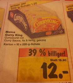 Meica Curry King >1,20€ @Kaufland Cottbus