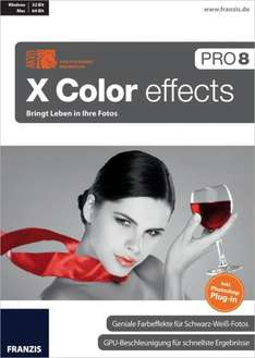 X Color effects Pro 8 + Topseller-E-Book für 39,- €
