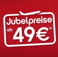 airberlin: 1 Million Tickets ab 49,- € (nur bis 31.01.2013)