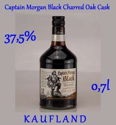 Captain Morgan Black Charred Oak Cask 37,5% 0,7l @ Kaufland